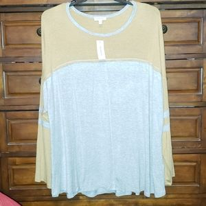 "New w/tags 3XL ""Loralette Jersey Tshirt"